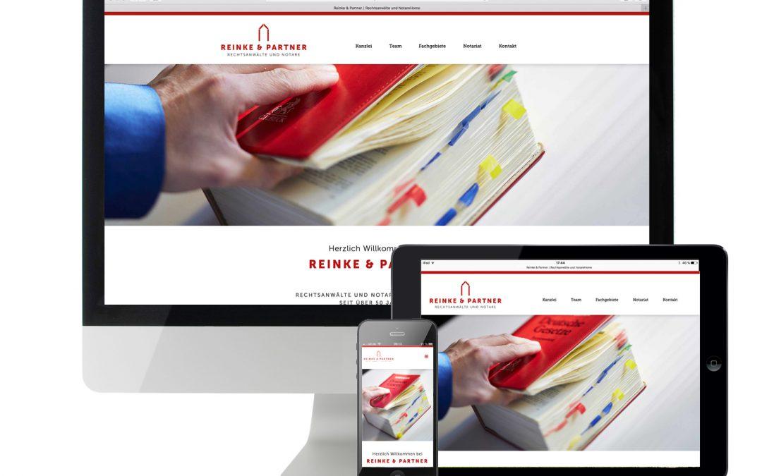 Website Reinke & Partner