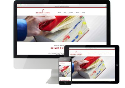 Website Reinke & Partner
