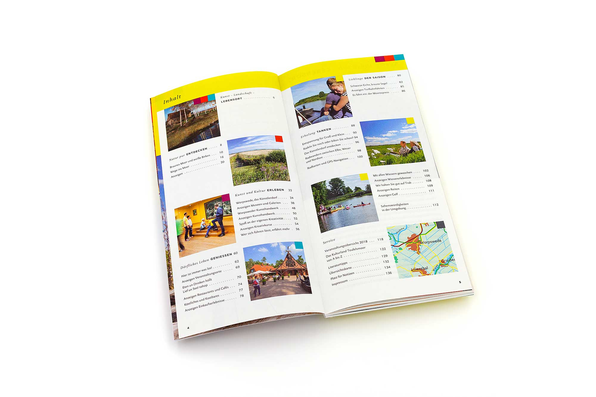 Inhaltsverzeichnis Reiseführer