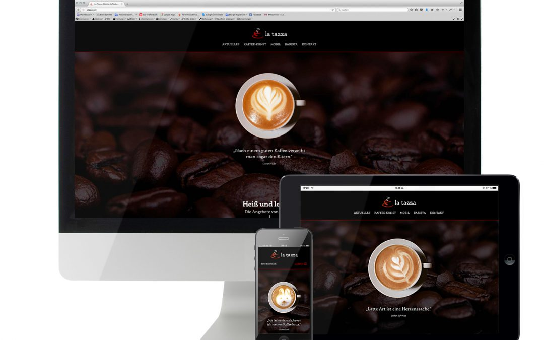 Website La Tazza